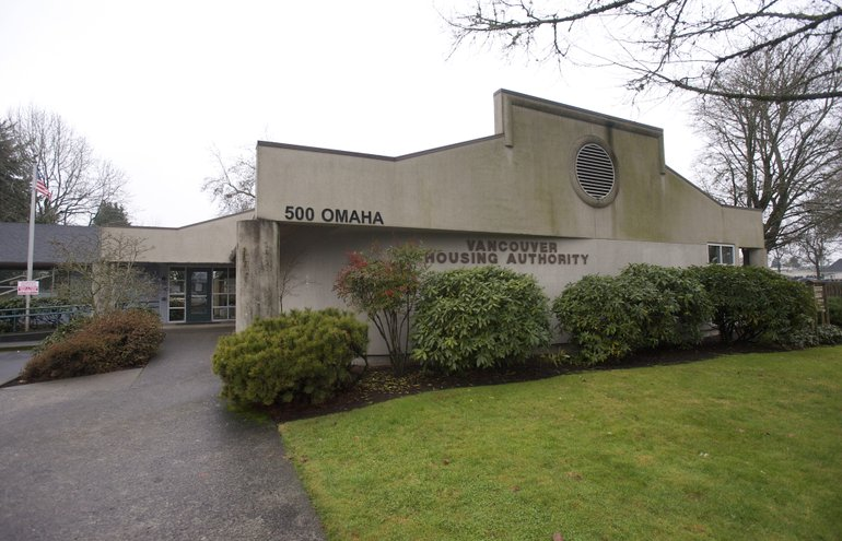 Officials thought about remodeling the Rise & Stars Community Center — but then decided to raze the building and start over. (Steven Lane/The Columbian)