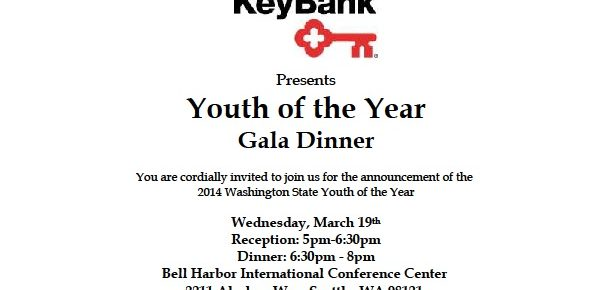 Save the Date for the 2014 Youth of the Year!