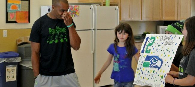 Seahawks Palyer Doug Baldwin Drops by Spiritwood Manor for an Impromptu Q&A