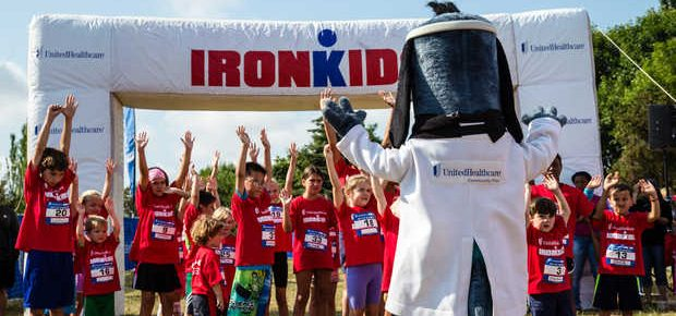 "Seattle Area Kids Test Their ""IRONMAN"" Skills at UnitedHealthcare IRONKIDS Fun Run"