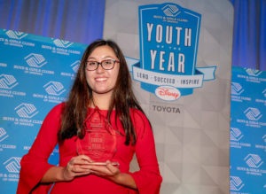 Katie Wilton, 2018 WA Military Youth of the Year, earns Pacific region title