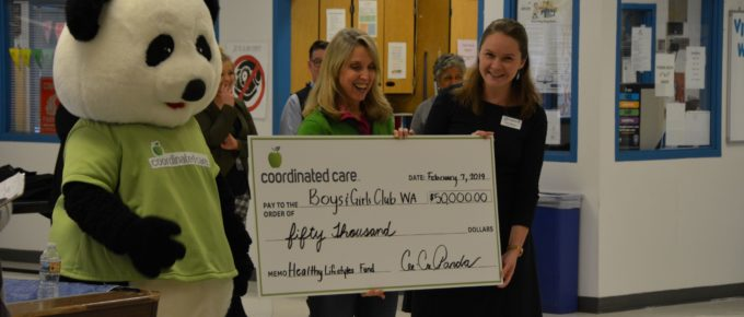 Coordinated Care of Washington forms a new partnership with Boys & Girls Clubs
